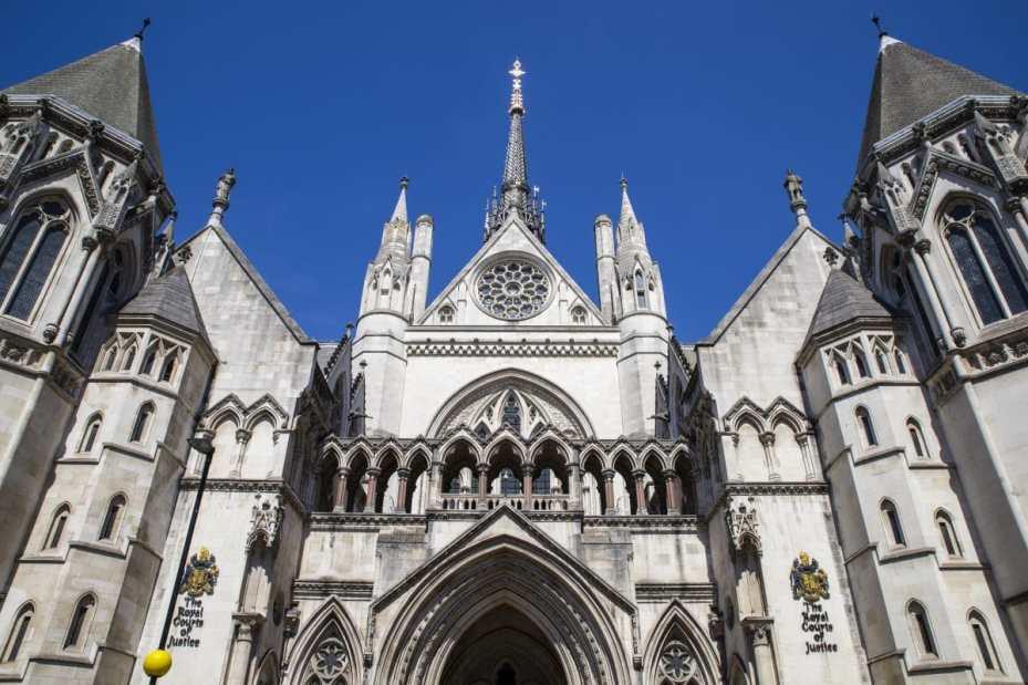 London High Court, image credit: 123rf