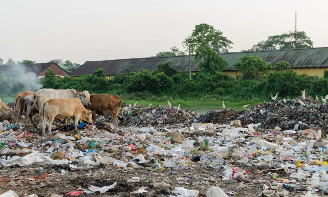 India's problem with plastic waste