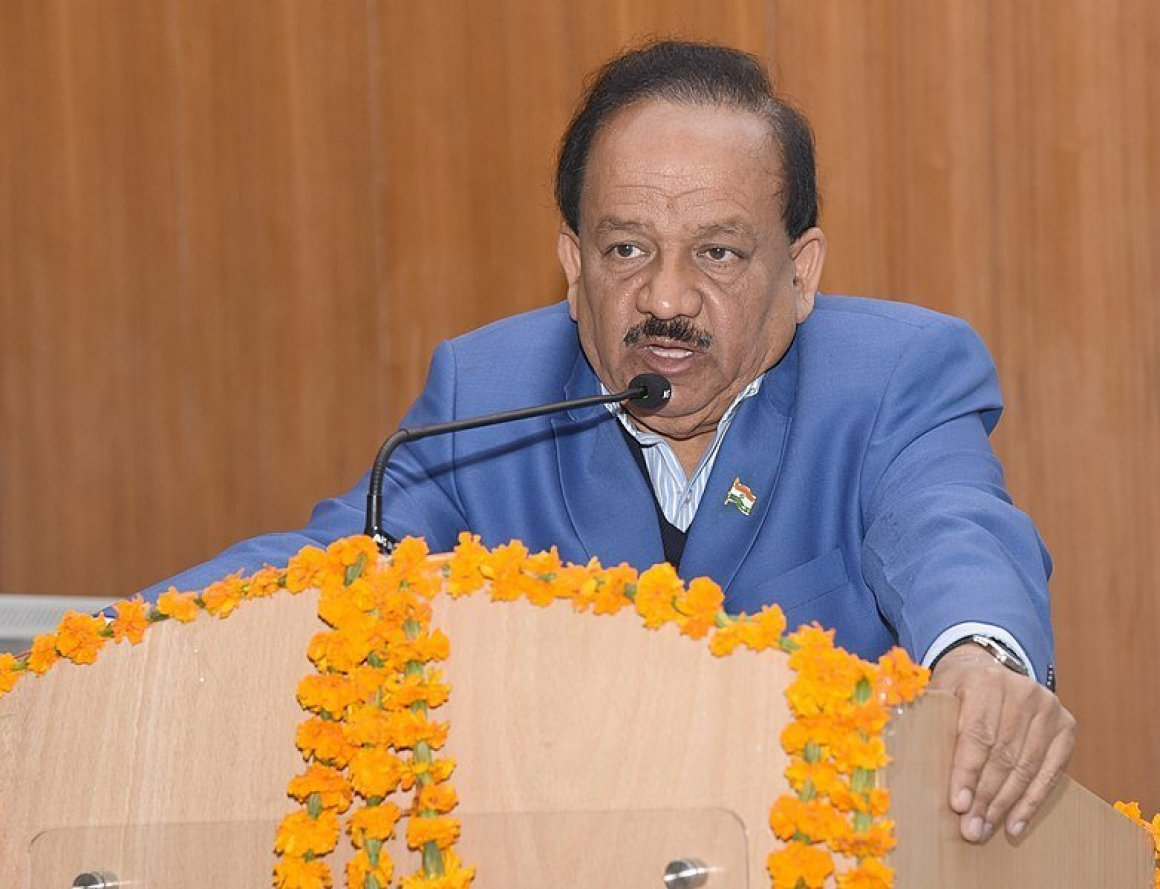 "<em><strong>Dr Harsh Vardhan (pictured here at an event in New Delhi), who has emerged as a vocal critic of the Delhi government's healthcare policies and favours Ayushman Bharat. Image credit: Ministry of Science &amp; Technology (GODL-India) [GODL-India (https://data.gov.in/sites/default/files/Gazette_Notification_OGDL.pdf)] This file or its source was published by Press Information Bureau on behalf of Ministry of Science &amp; Technology, Government of India under the ID <a class=""external text"" href=""http://pib.nic.in/newsite/photo.aspx?photoid=94874"" rel=""nofollow"">94874</a> and CNR 91496. <small>(<a class=""external text"" href=""http://pibphoto.nic.in/photo//2016/Dec/l2016121994874.jpg"" rel=""nofollow"">direct link</a>). </small>This file is a copyrighted work of the <a class=""external text"" href=""https://www.india.gov.in/"" rel=""nofollow"">Government of India</a>, licensed under the <a class=""external text"" href=""https://data.gov.in/sites/default/files/Gazette_Notification_OGDL.pdf"" rel=""nofollow"">Government Open Data License - India (GODL)</a>.</strong></em>"