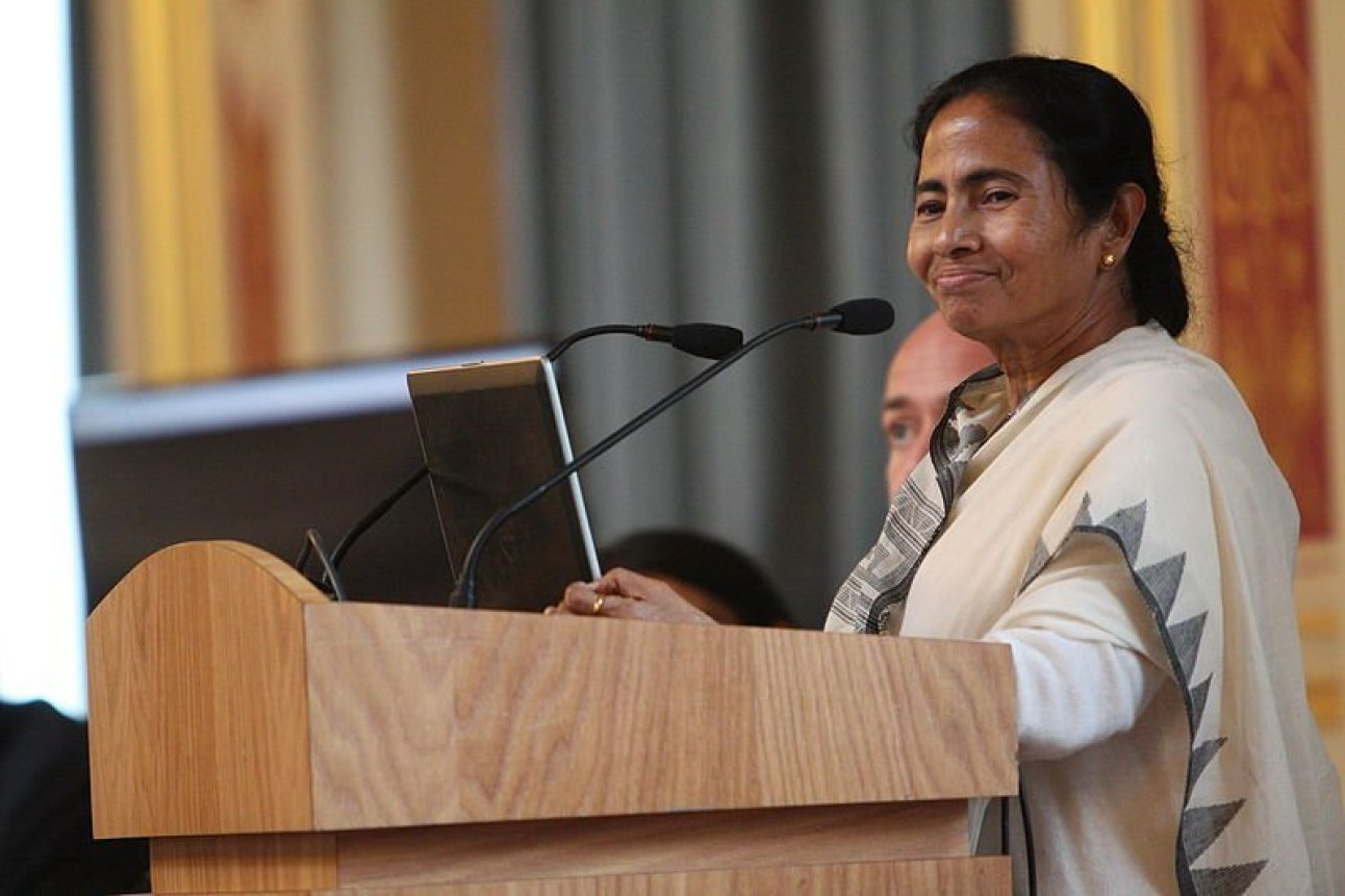 Mamata Banerjee, Chief Minister Government of West Bengal speaking at an event in London, 27 July 2015.
