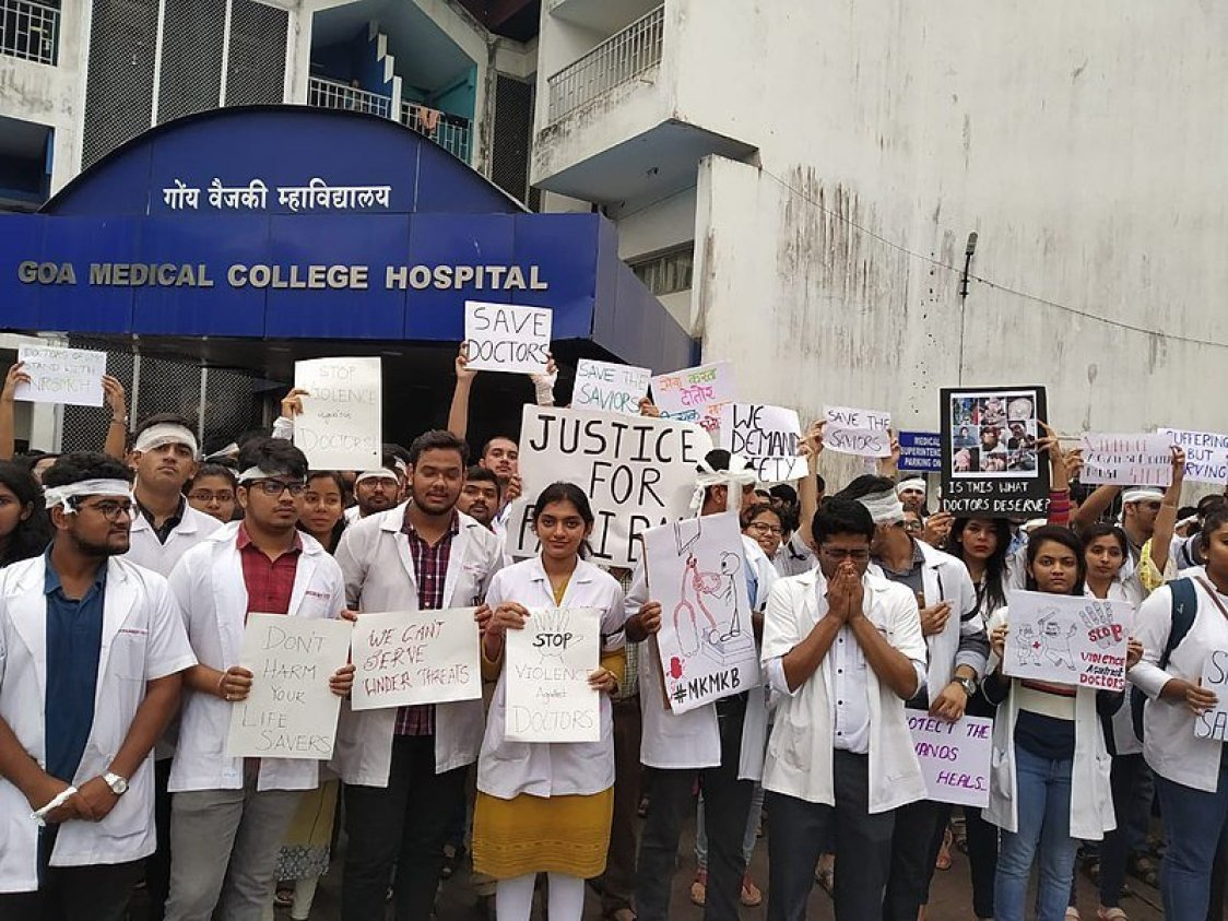 IMA appeals for ordinance on violence against doctors