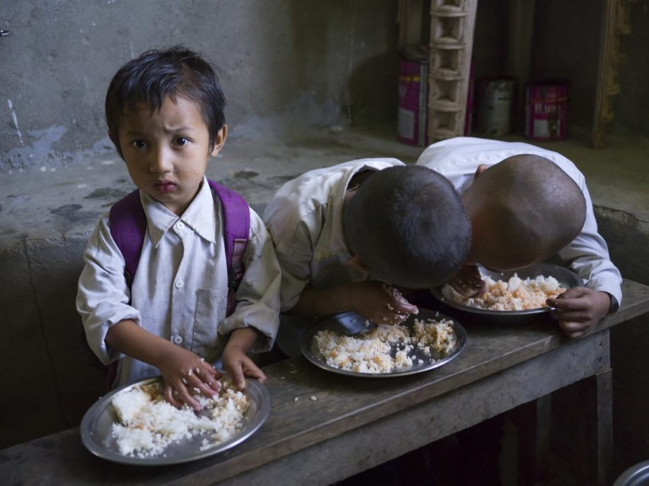 Malnutrition: Responsible for two-thirds of child deaths