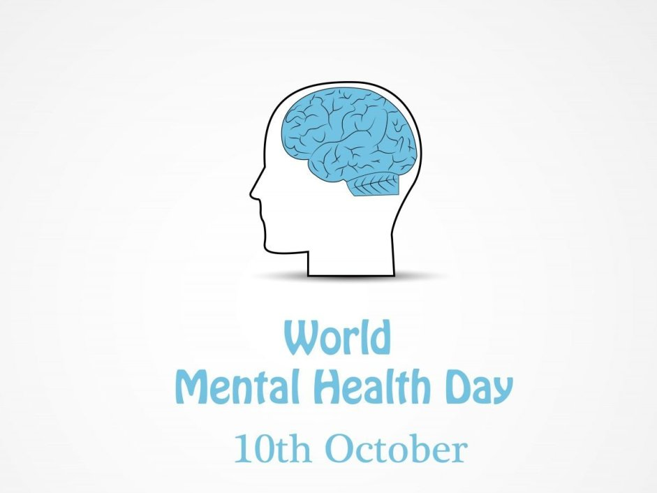 Vector - Illustration of World Mental Health Day