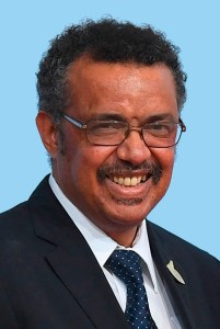 Tedros Adhanom - *03.03.1965: Director General of the World Health Organization WHO since 2017 with seat in Geneva.