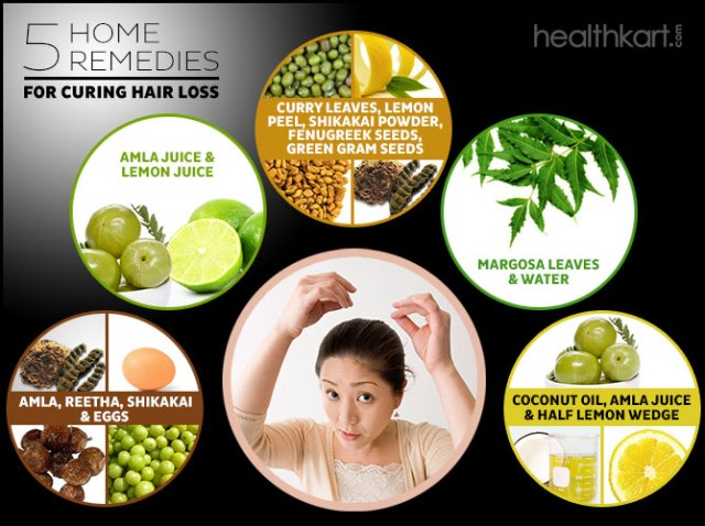 How To Stop Hair Fall Naturally Home Remedies