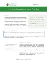 Subject Matter Brief: Physician Engagement
