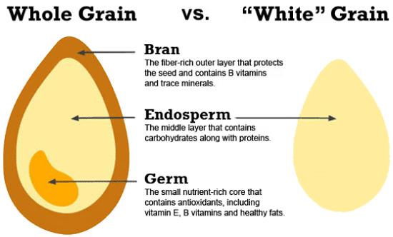 Whole vs. Refined Grains