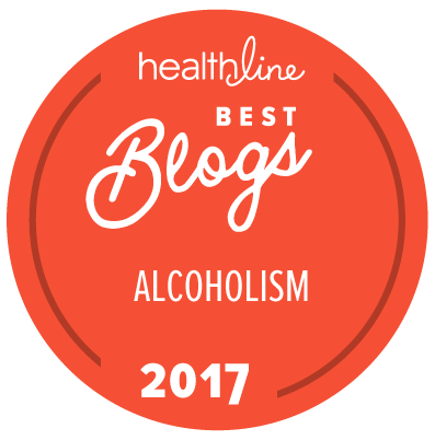 alcoholism best blogs badge