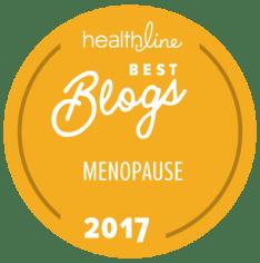 menopause best blogs badge