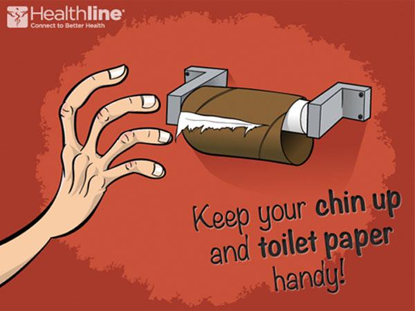 Sjov Toilet Stickers Med Teksten Downloading Og En Mand
