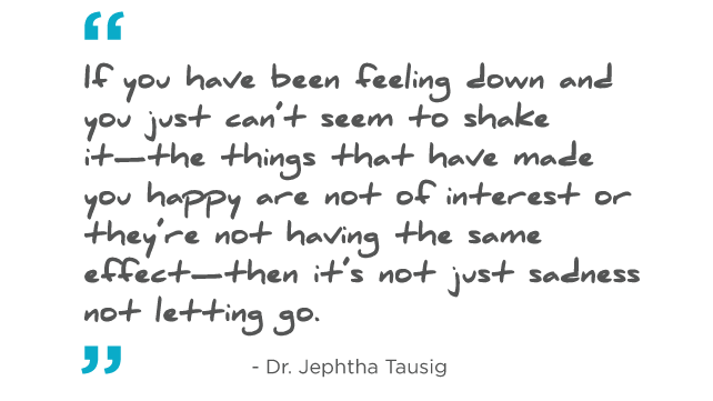Recognizing Depression