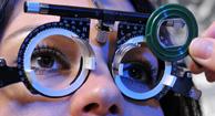 examen de la vista para el astigmatismo