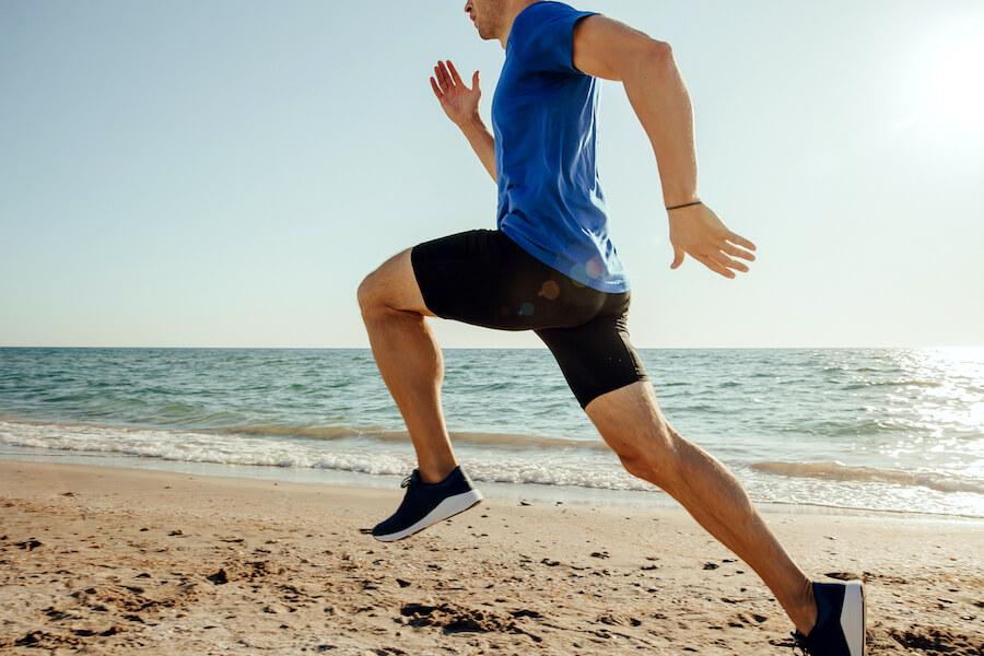 Increase Testosterone Levels Sports Man Running