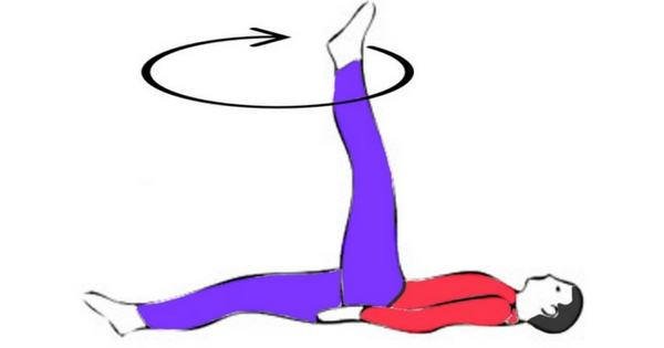 Dwichakrikasan (Cycling yoga Pose)