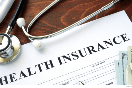 Deductible Credit Transfer In a Health Plan Switch Health insurance form on table