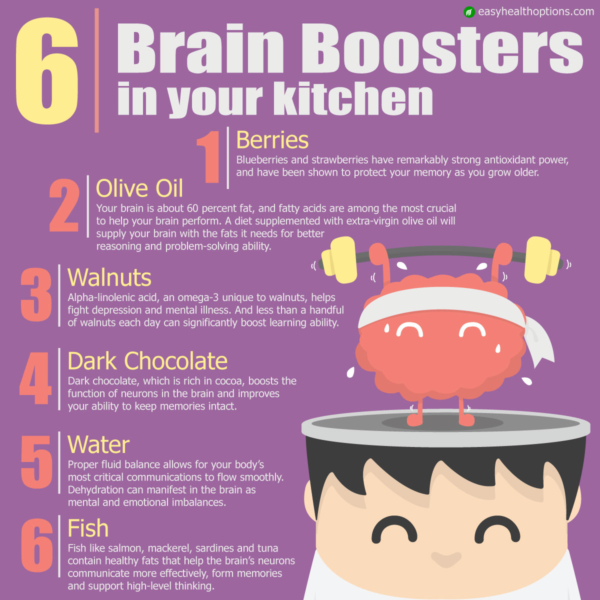 6 brain boosters in your kitchen [infographic]