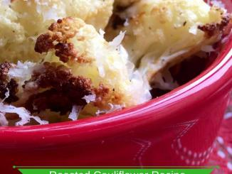 Easy Spiced Roasted Cauliflower Recipe