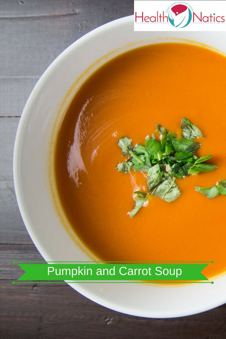Healthy Pumpkin and Carrot Soup Recipe