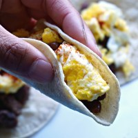 Simple Veggie Breakfast Tacos