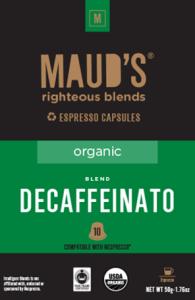 Organic Decaffeinato Espresso Capsules, 20ct.-160ct.