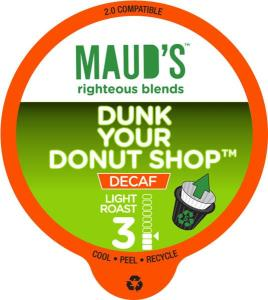 Decaf Donut Shop Coffee Pods -48ct