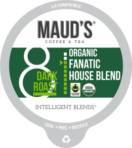 Organic House Blend Coffee Pods