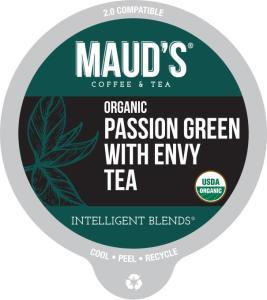 Organic Passion Green Tea Pods