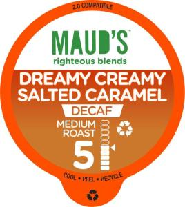Decaf Salted Caramel Coffee - 48ct