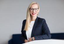 Porträt Sandra Bunke-Kölblin, Marketingleiterin bei Dr. Kade / Besins GmbH