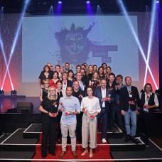 Auf der abendlichen Preisverleihung wurden die Gewinner der Digital-Kategorie mit dem COMPRIX-Award 2018 ausgezeichnet. ©Thomas Bittera/ COMPRIX