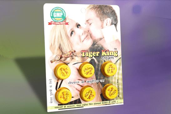 Tiger King Plus Cream