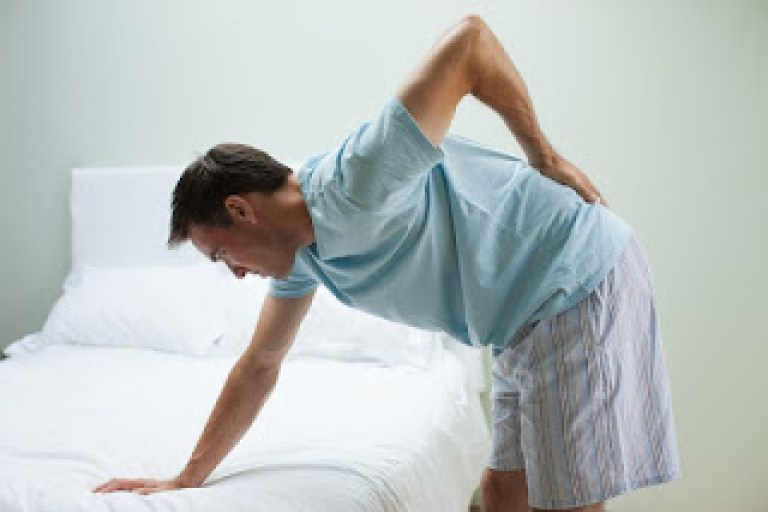 A herniated disc is a cause of back and leg pain