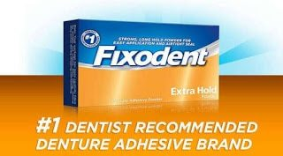 Fixodent and Other Dentures adhesives: Do you need them?