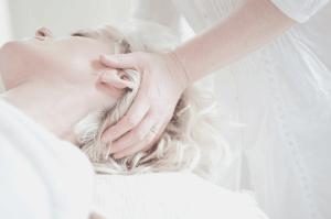 head massage treatment relaxation