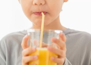 Fruit juice, not recommended for children under 1 year of age