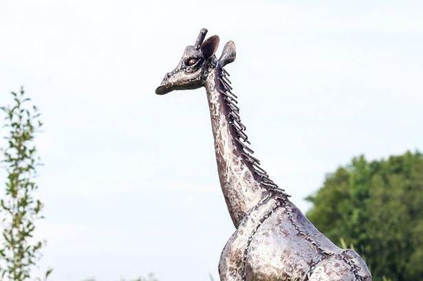 Stolen Giraffe Sculpture Was Recovered