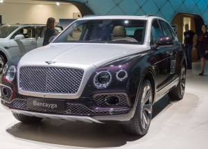 Bentley's Bentayga Present at the Geneva Motor Show