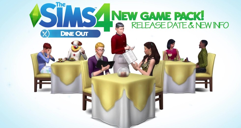 The Sims 4 on Console Available with the Dine Out Game Pack