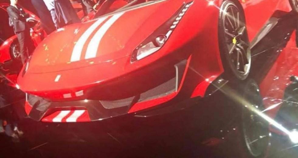 The New Ferrari 488 GTO Presented At A Private Event