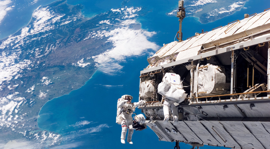 Space Station Astronauts Live-Streamed Their Spacewalk