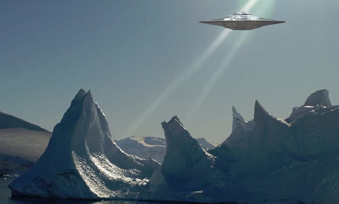 UFO Crash Site Discovered In Antarctica With Google Earth