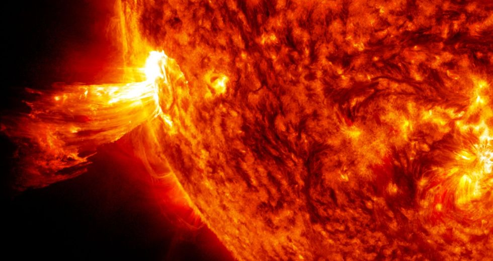 A Solar Storm Will Hit The Earth Today