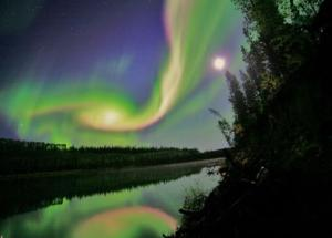 Minor Solar Storm, Responsible for Colorful Auroras