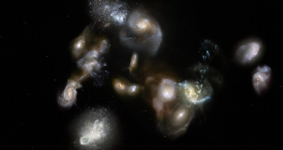 Galaxy Megamergers Of The Young Universe Were Discovered With ALMA And APEX Telescopes