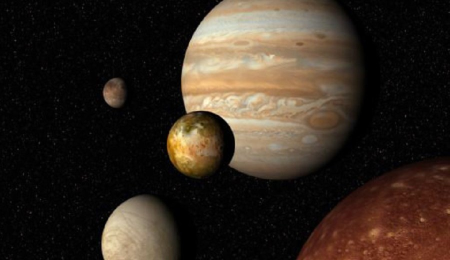 Saturn Could Have Had An Important Role In The Formation Of Jupiter's Moons