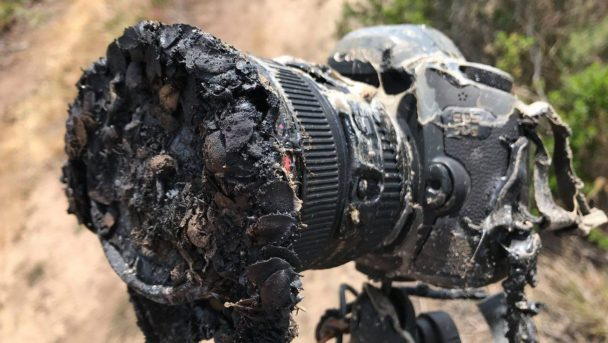 SpaceX Falcon 9 Launch On May 22nd Melted A Camera Of A NASA Photographer