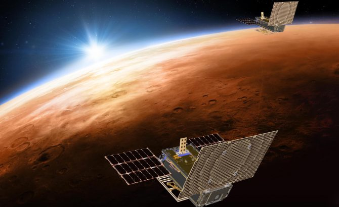 NASA CubeSats, MarCo A & B, Made Their First Deep Space Maneuvers To Set Course To Mars