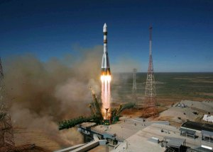 Three Astronauts, An American, A Russian, And A German, Took Off For ISS Aboard Soyuz MS-09 Rocket