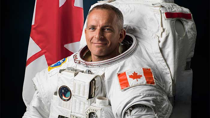 Canadian Astronaut David Saint-Jacques Gets Ready For The International Space Station