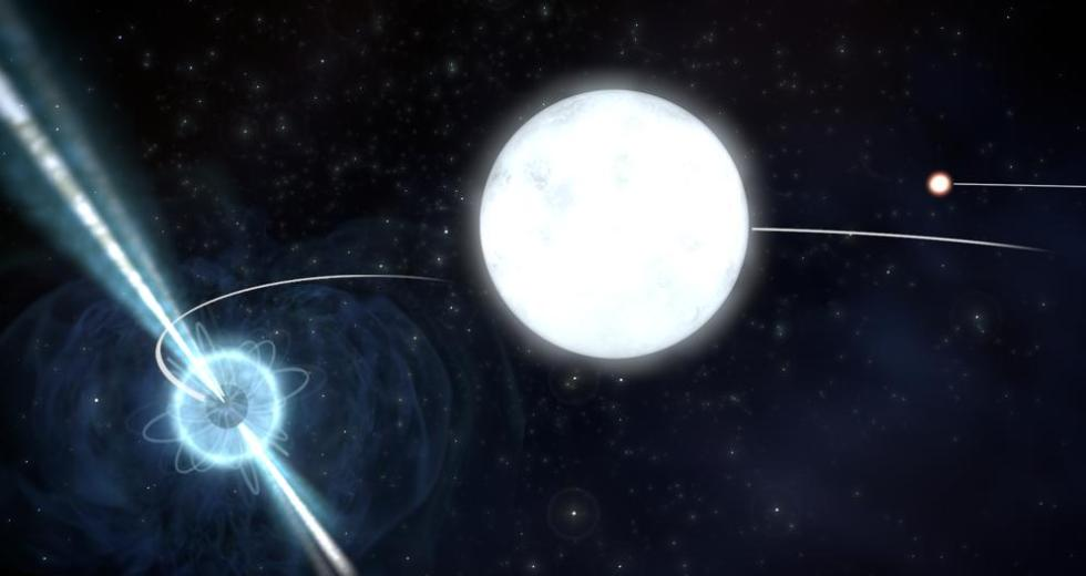 Equivalence Principle Of The Einstein's Theory Of General Relativity Proven Correct In A Triple Star System
